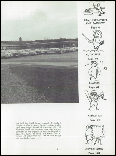 1962 Dundee Community High School Yearbook Page 7