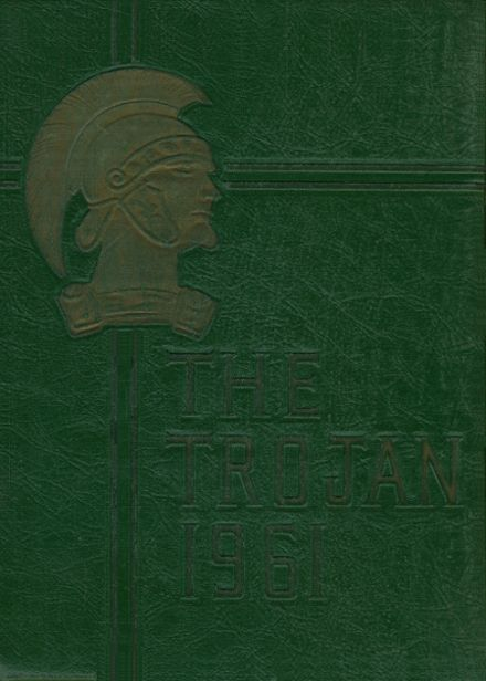 1961 Midlothian High School Yearbook Cover