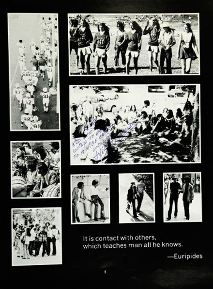 1973 Hollywood High School Yearbook Page 9