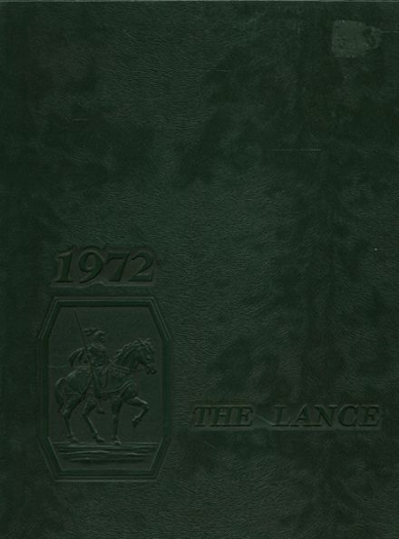 1972 Ripon Christian High School Yearbook Cover