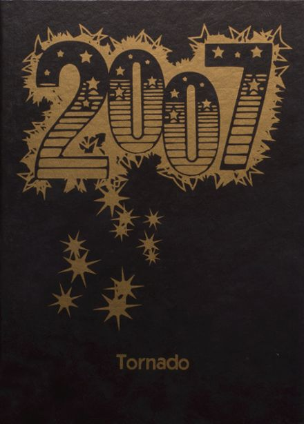 2007 Lamesa High School Yearbook Cover