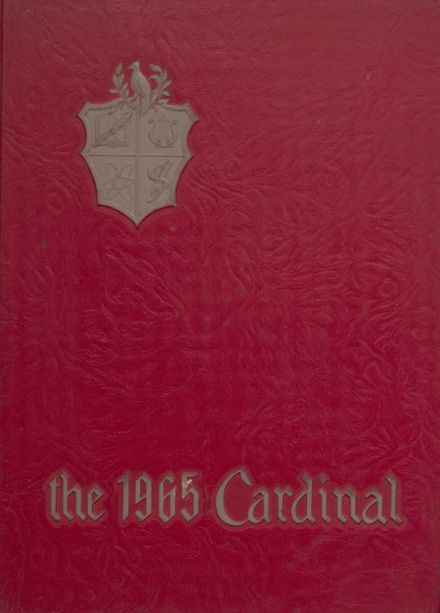 1965 Taylor County High School Yearbook Cover