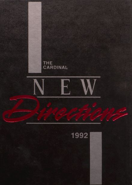 1992 Taylor County High School Yearbook Cover