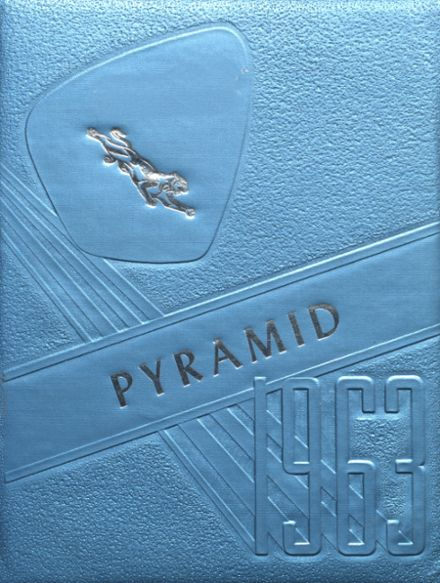 1963 Pinckneyville High School Yearbook Cover