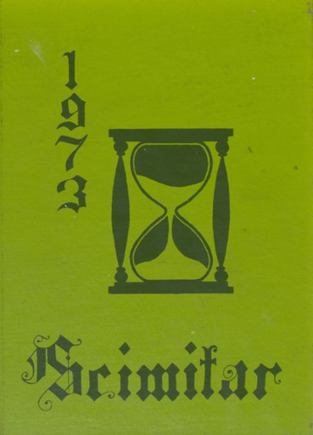 1973 Damascus High School Yearbook Cover