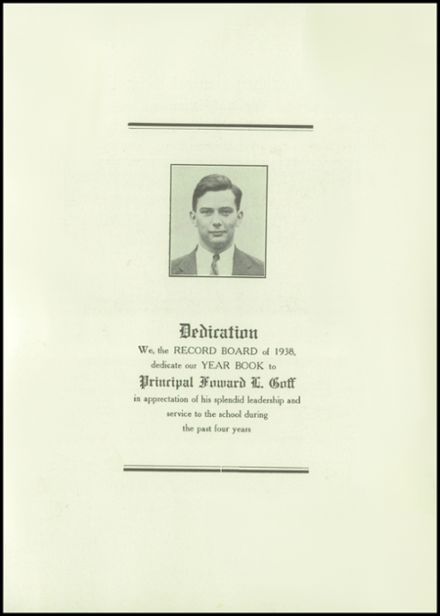 1938 Roxbury Central High School Yearbook Page 5
