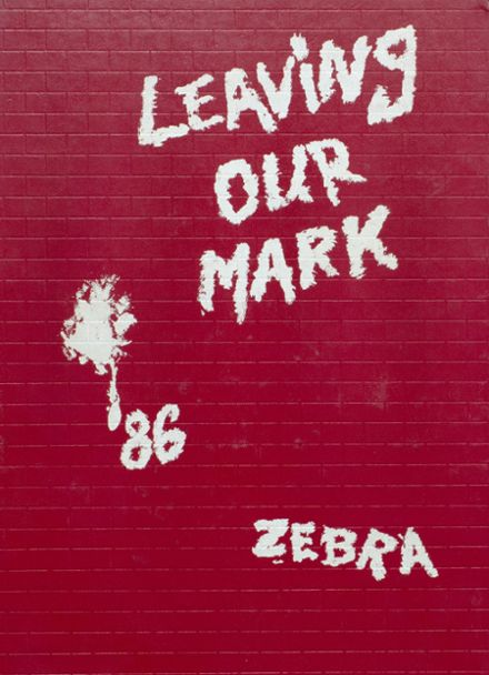 1986 Pine Bluff High School Yearbook Cover