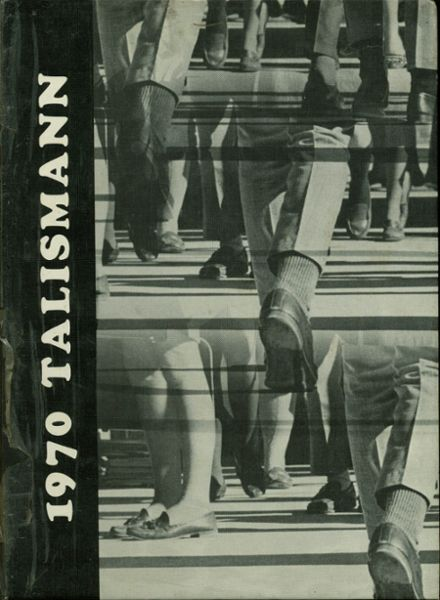 1970 Mann High School Yearbook Cover