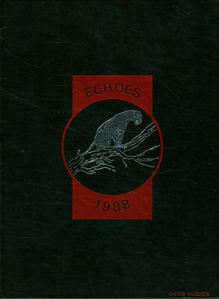 1988 Warren G. Harding High School Yearbook Cover