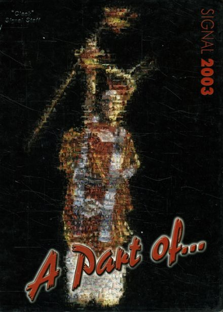 2003 South Grand Prairie High School Yearbook Cover