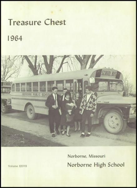1964 Norborne High School Yearbook Page 5