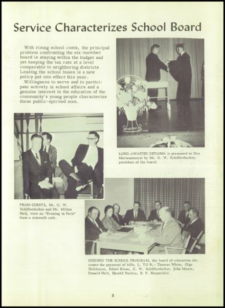 1964 Norborne High School Yearbook Page 7