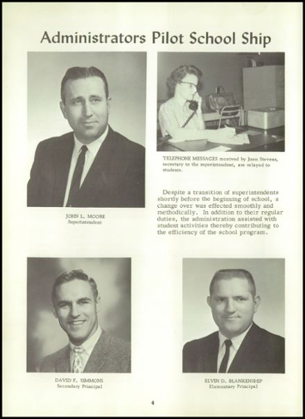 1964 Norborne High School Yearbook Page 8