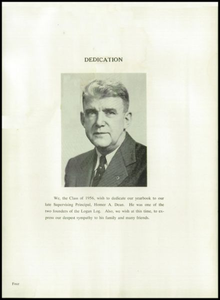 1956 Armagh Brown Joint High School Yearbook Page 8