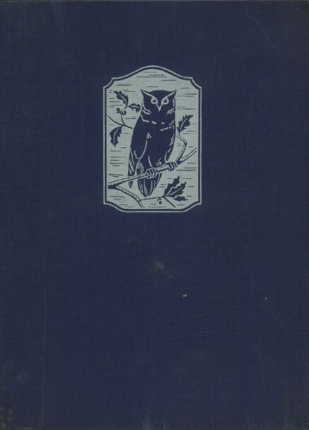 1940 Dickinson High School Yearbook Cover