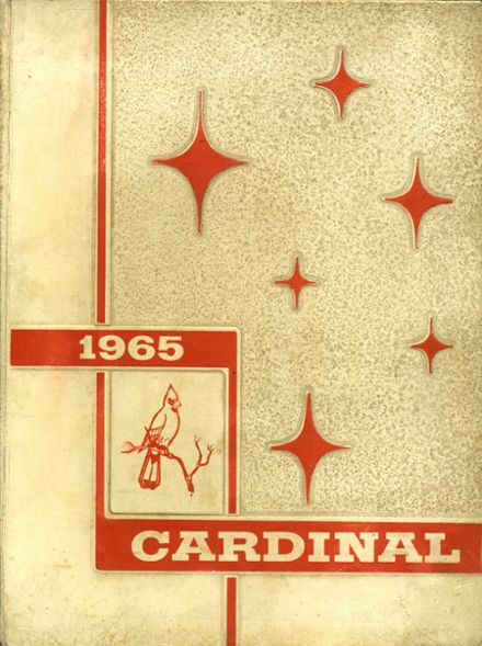1965 Del Valle High School Yearbook Cover