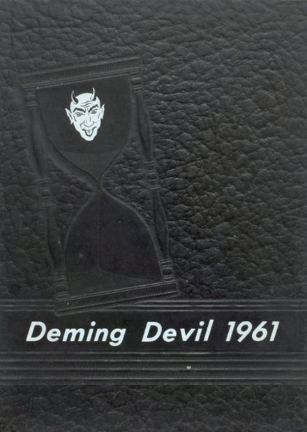 1961 Deming High School Yearbook Cover