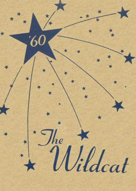 1960 Welch High School Yearbook Cover