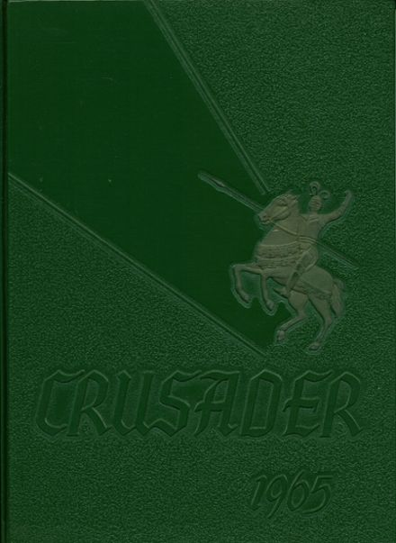 1965 Muskegon Catholic Central High School Yearbook Cover