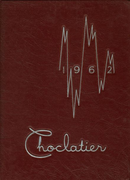 1962 Hershey High School Yearbook Cover
