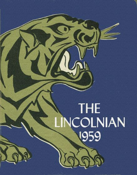 1959 Lincoln High School Yearbook Cover