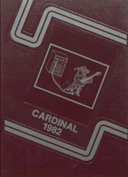 1982 Brighton High School Yearbook Cover