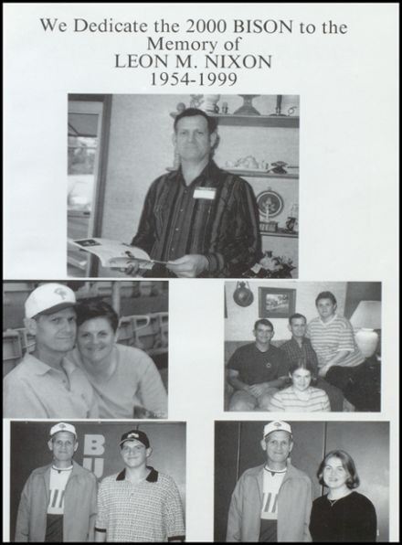 2000 Cross Plains High School Yearbook Page 5