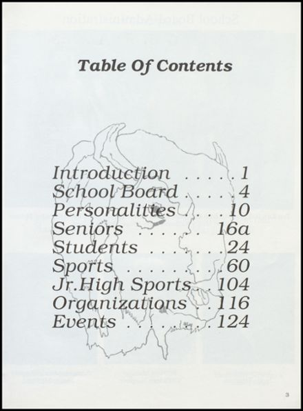 2000 Cross Plains High School Yearbook Page 7