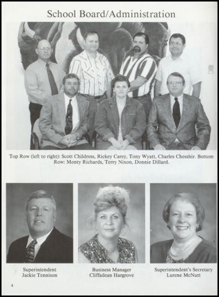 2000 Cross Plains High School Yearbook Page 8