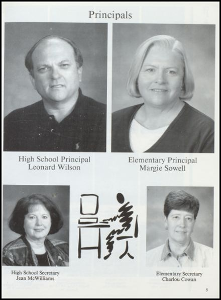 2000 Cross Plains High School Yearbook Page 9
