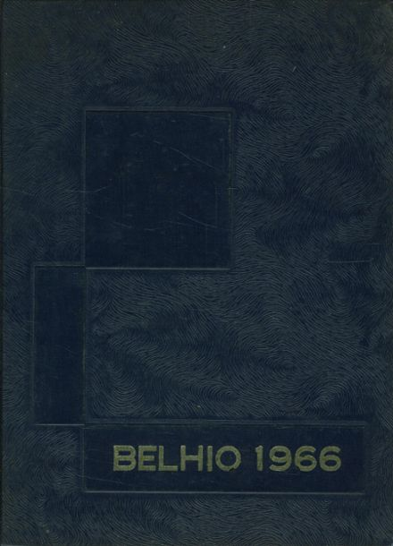 1966 Belpre High School Yearbook Cover