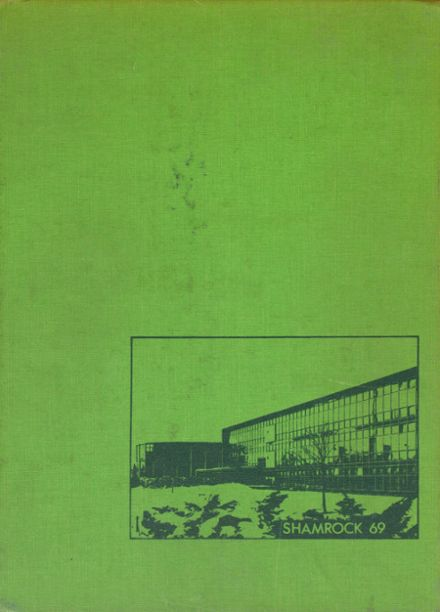 1969 St. Patrick High School Yearbook Cover