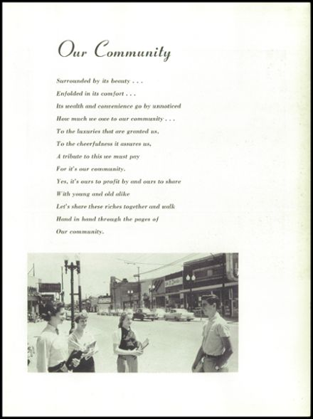 1957 Steinmetz Academic Centre Yearbook Page 9