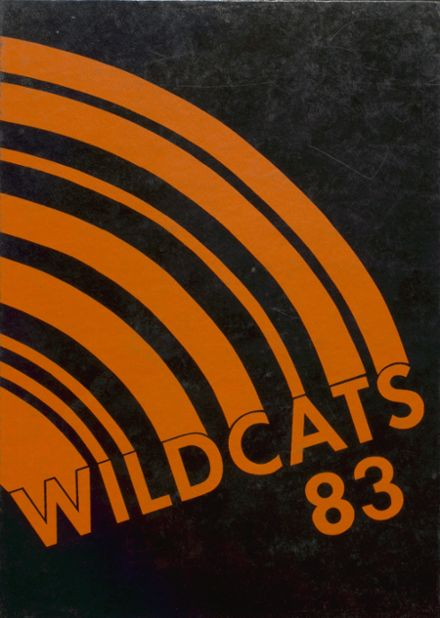 1983 North Union High School Yearbook Cover