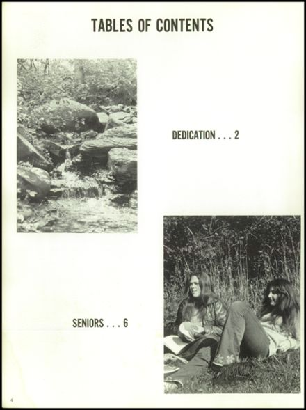 1972 Hall High School Yearbook Page 8