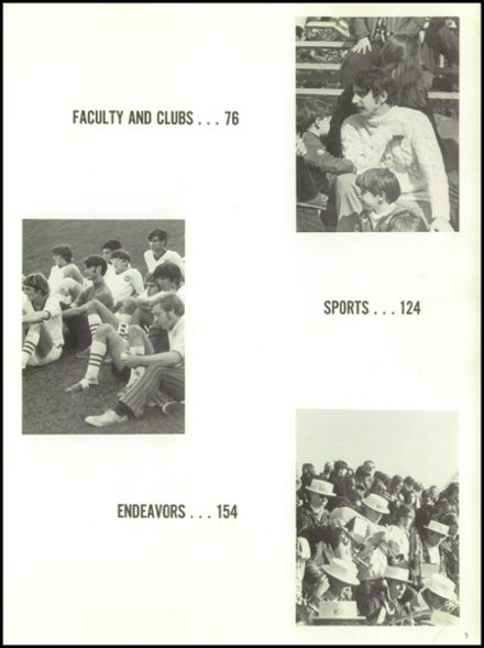 1972 Hall High School Yearbook Page 9