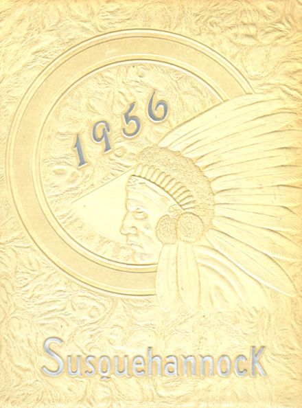 1956 Columbia High School Yearbook Cover