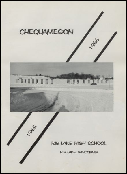 1966 Rib Lake High School Yearbook Page 5