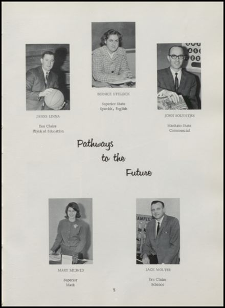 1966 Rib Lake High School Yearbook Page 9