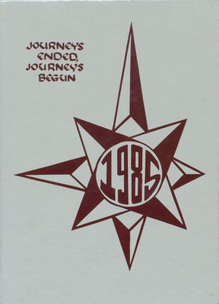 1985 Central Catholic High School Yearbook Cover