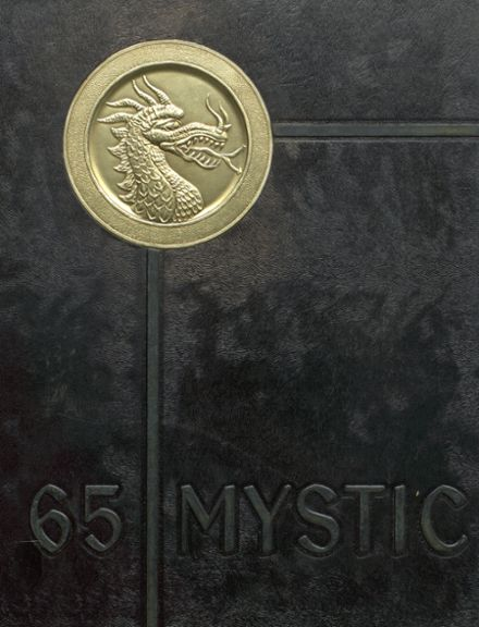 1965 Cameron High School Yearbook Cover