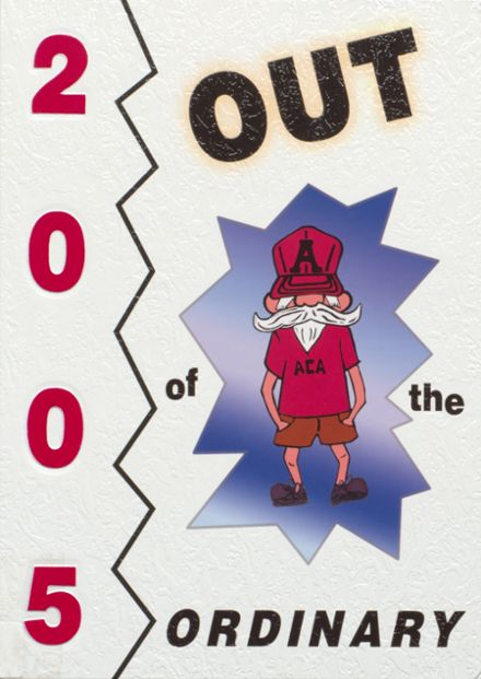 2005 Abbeville Christian Academy Yearbook Cover