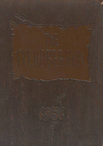 1951 Madison Central High School Yearbook Cover