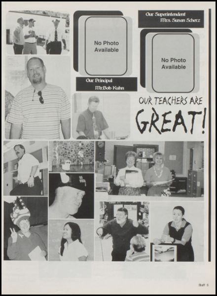 2003 Williams High School Yearbook Page 9