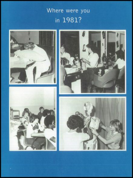 1981 North Clayton High School Yearbook Page 8