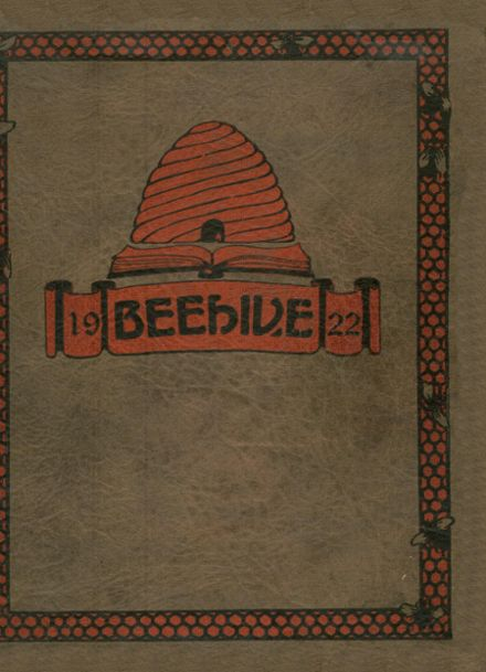 1922 New Britain High School Yearbook Cover