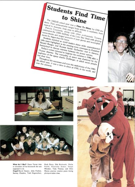1986 Carthage High School Yearbook Page 6