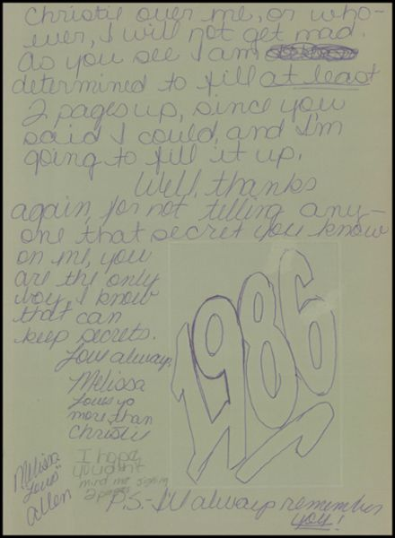 1986 South Pittsburg High School Yearbook Page 3