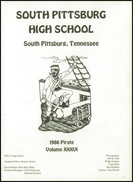 1986 South Pittsburg High School Yearbook Page 5