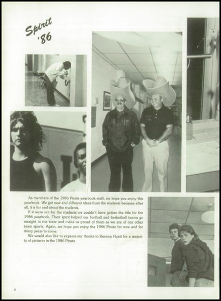 1986 South Pittsburg High School Yearbook Page 8